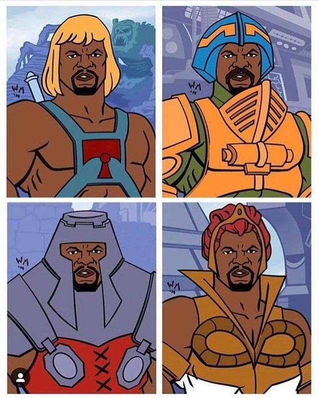 Terry Crews podría ser el mejor He-Man de la historia