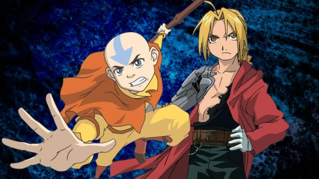25/07/19 Aang, Ed, Full Metal Alchemist, Avatar The Last Air Bender