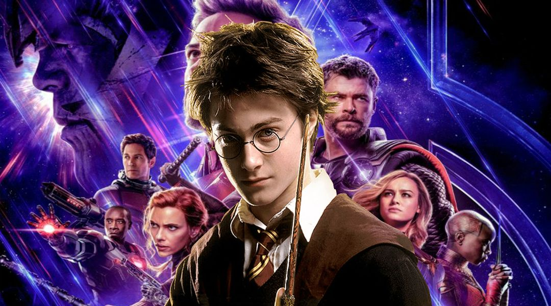 Avnegers Endgame Harry Potter