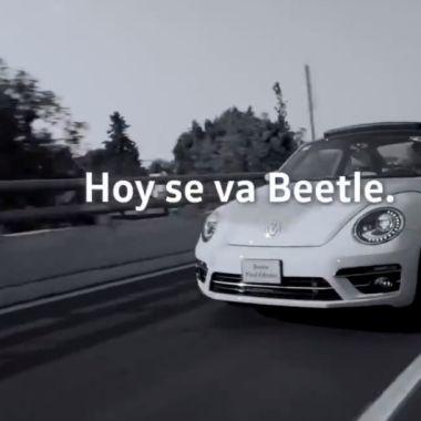 Volkswagen termina la producción del Beetle en Puebla