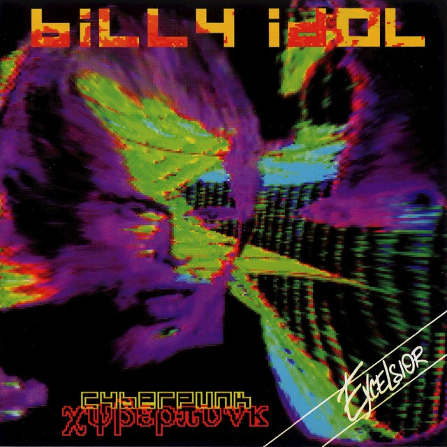 Portada del álbum de Cyberpunk de Billy Idol