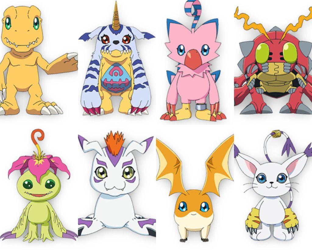 08/07/19 Digimon, Last Evolution Kizuna, Película, Personajes