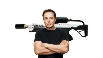 Elon Msuk Lanzallamas The Boring Company