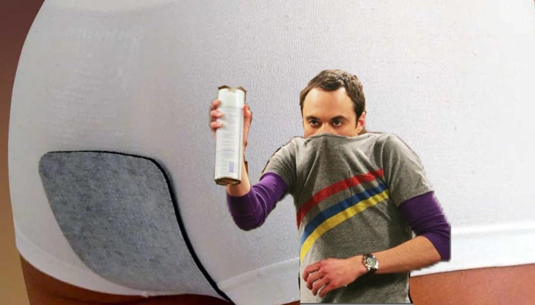 Parche capaz de eliminar olor de flatulencias.