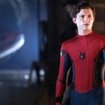 Tom Holland como Spider-Man sin máscara