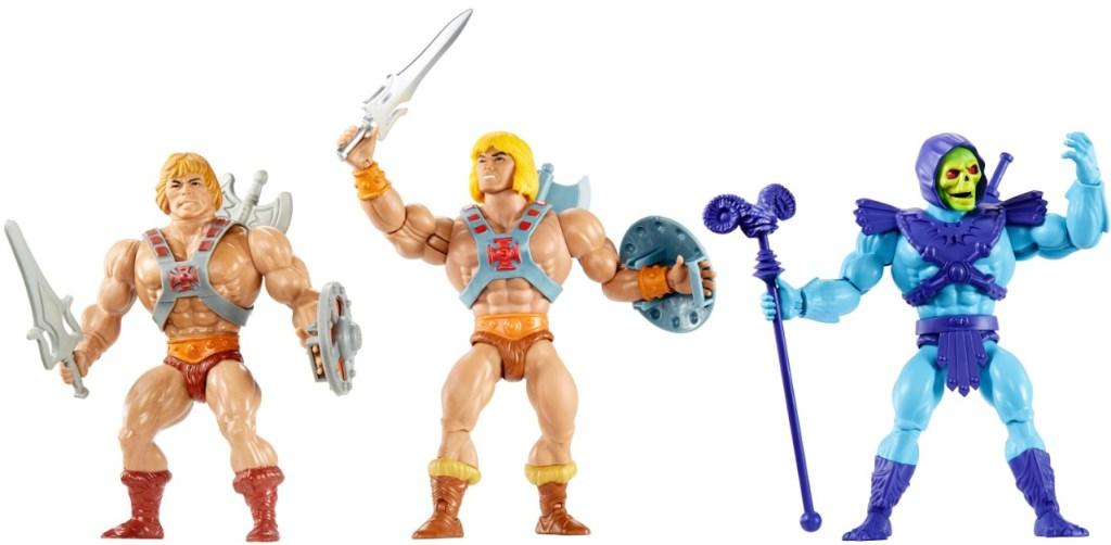 Figuras de acción de He-Man y Skeletor