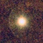 (Estrella rodeada por un haz de luz)
