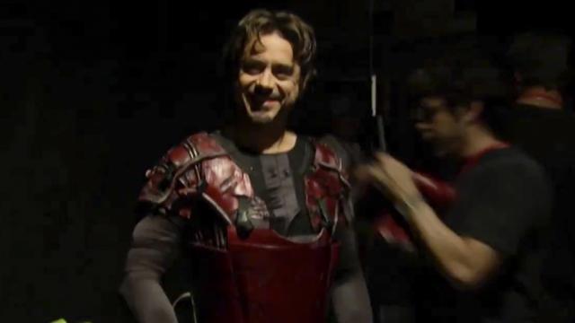 17/07/19 Robert Downey Jr, Iron Man, Avengers Endgame, Audición