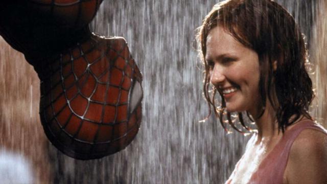 Spider Man, Tobey Maguire, Sam Raimi, Beso