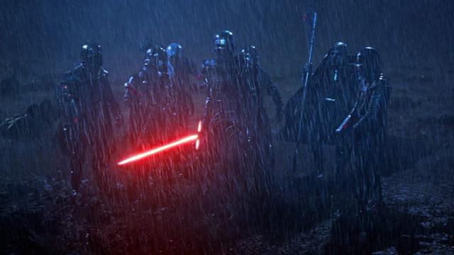 22/07/19 Star Wars, Rise of Skywalker, Episodio IX, Caballeros Kylo Ren