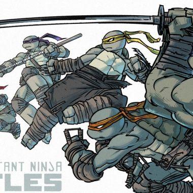 17/07/19 ortugas Ninja, Jennika, Mujer, Armas