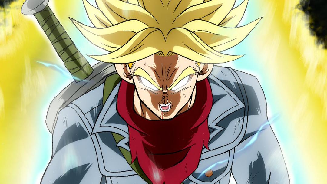 21/07/19 Trunks, Dragon Ball, Super Saiyan Dios, Heroes