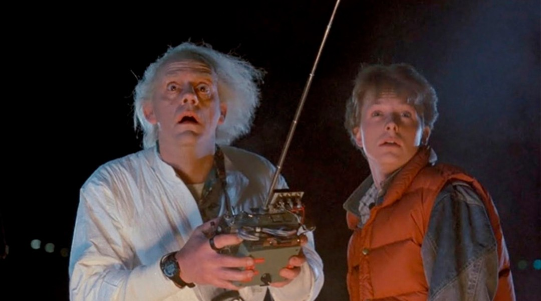 Volver Al Futuro, Back To The Future, Christopher Lloyd, Dr Brown