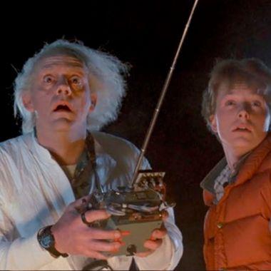 Volver Al Futuro, Back To The Future, Christopher Lloyd, Dr Brown