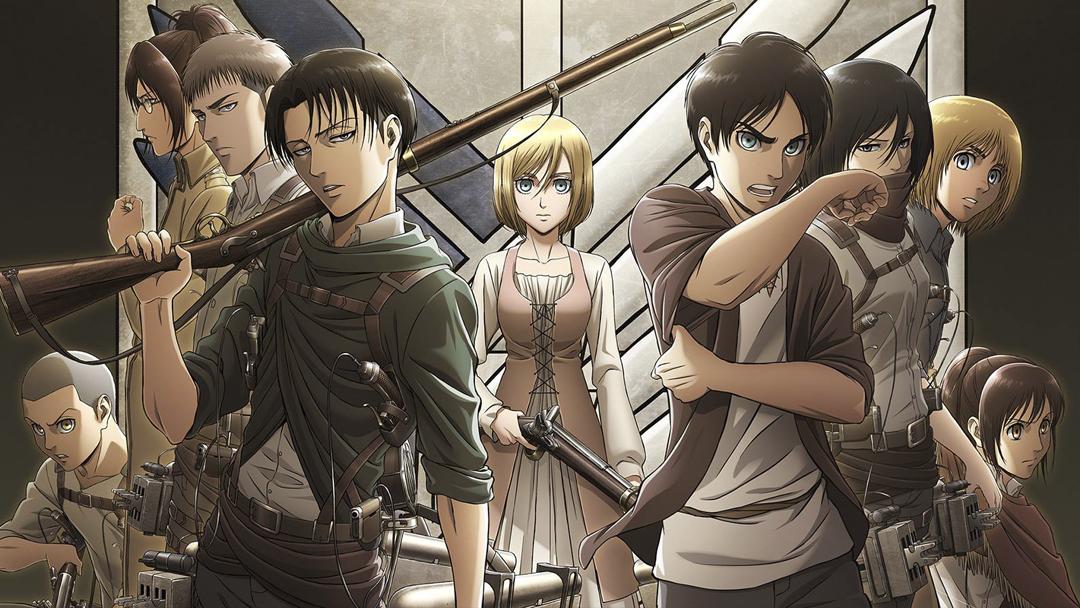 13/08/19 Attack On Titan, Shingeki No Kyojin, Hajime Isayama, Personajes