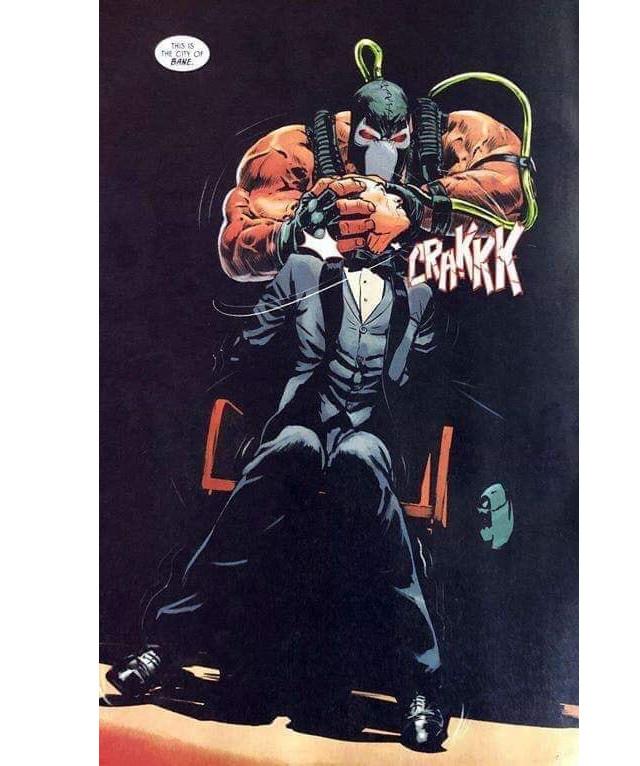 Bane asesinó a Alfred Pennyworth en Batman 77