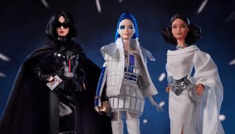 Nuevas muñecas de Barbie de Star Wars