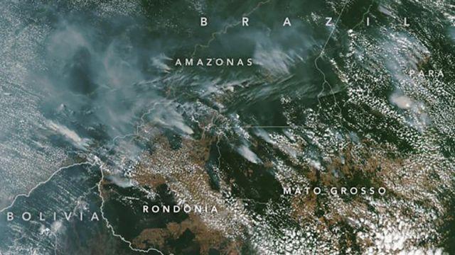 Brasil Incendio Amazonas
