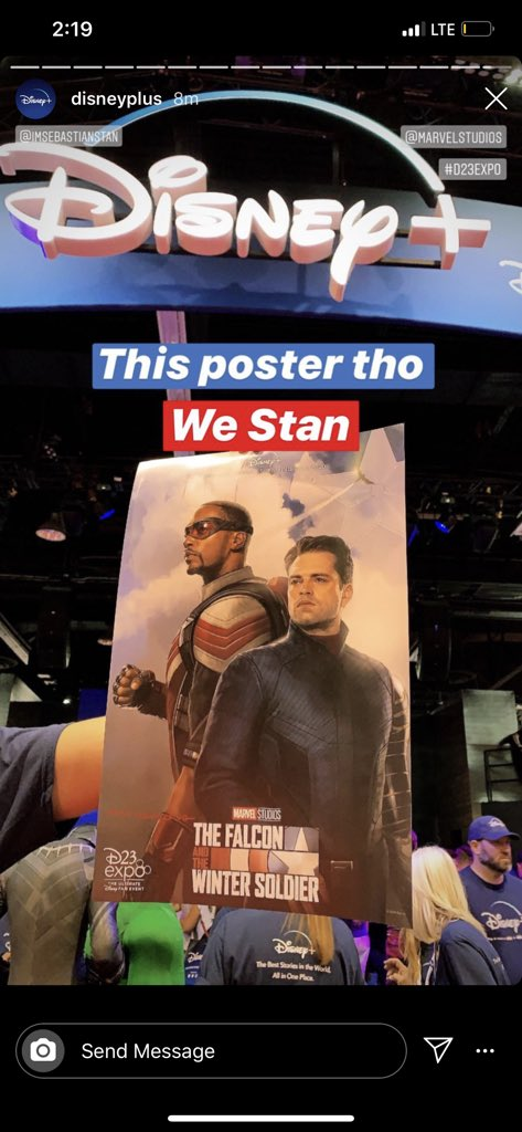 25/08/19 Falcon and the Winter Soldier, Disney Plus, Serie, Póster