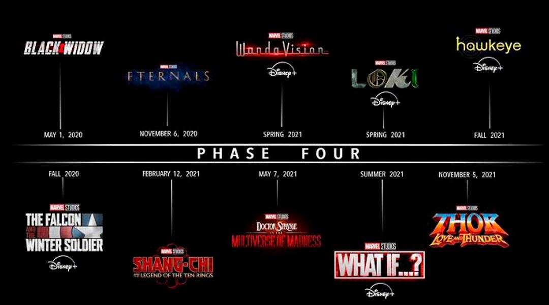 23/08/19 Fase 4, Marvel, MCU, Tráiler