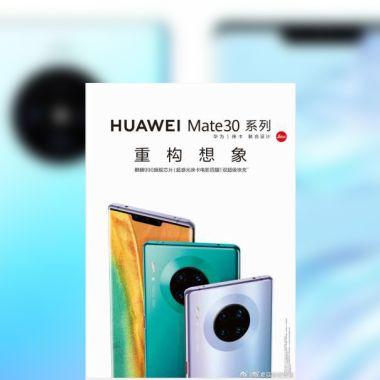 Huawei Mate P30 Pro Poster