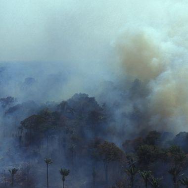 Incendio Amazonas Oxígeno