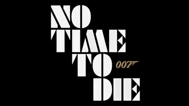 20/08/19 James Bond, No Time To Die, Bond 25, 007