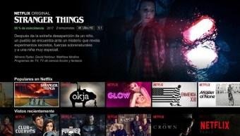 Netflix Interfaz Nueva Seccion