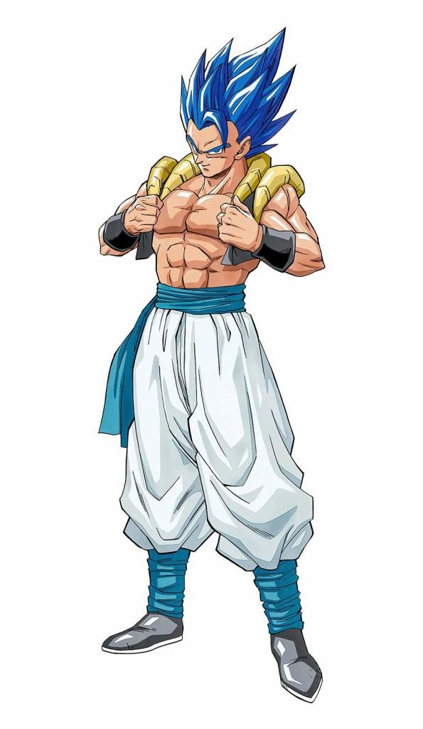 08/08/19 One Punch Man, Dragon Ball, Gogeta, Ilustración