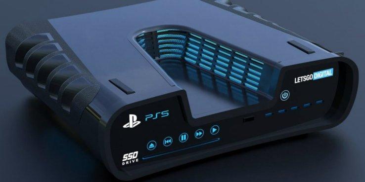 26/08/19 PlayStation 5, Consola, Render, Filtración