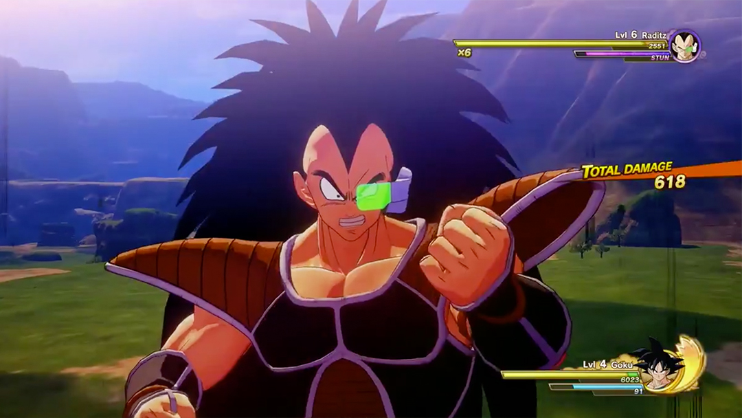 Raditz Goku Dragon Ball Z Kakarot