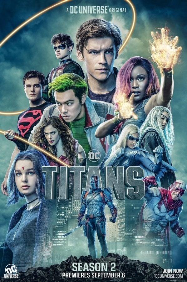 """El póster oficial de la segunda temporada de """"Titans"""" de Netflix"""