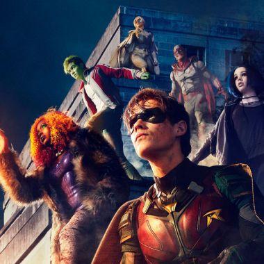 20/08/19 Titans, Segunda Temporada, Netflix, Póster, DC