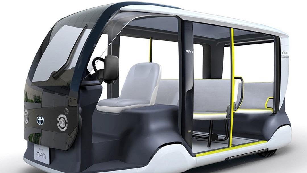 Toyota Vehículos Autónomos Juegos Olímpicos 2020