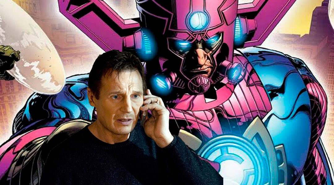 Liam Neeson sería elegido como Galactus en el MCU de Marvel