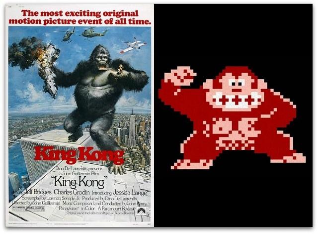 Donkey Kong vs. King Kong