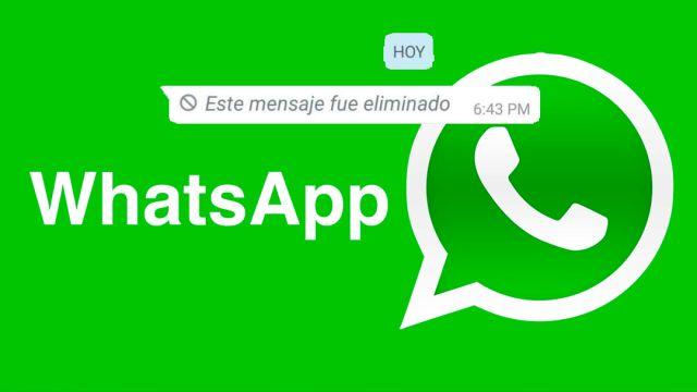 12/09/19, WhatsApp, Mensajes Borrados, WAMR, App