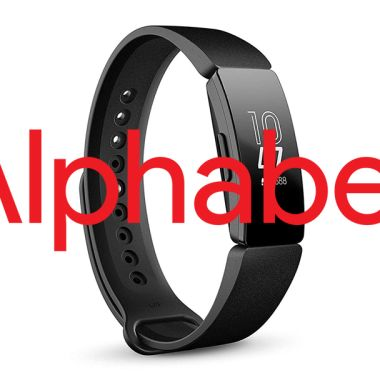 Alphabet Fitbit