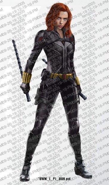 Imágenes promocionales de Black Widow