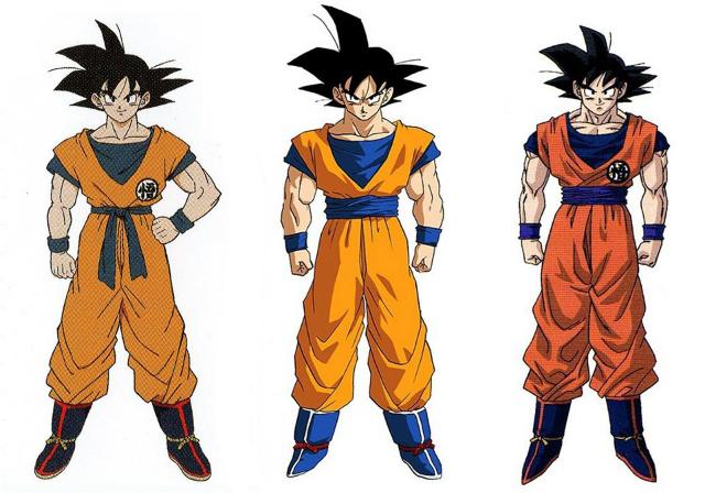 Comparativa Goku