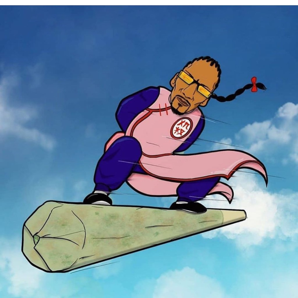 06/10/19, Dragon Ball, Snoop Dogg, Tao Pai Pai, Instagram