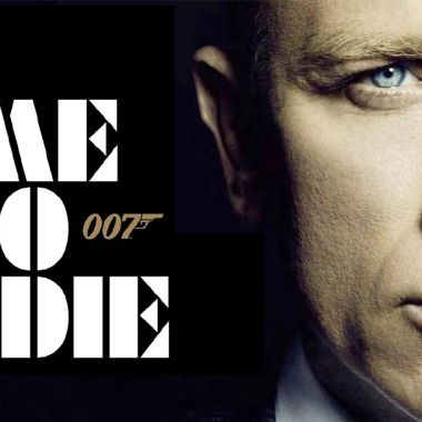 05/10/19, James Bond, No Time To Die, 007, Póster