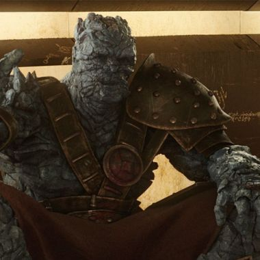 Korg regresa en Thor Love and Thunder