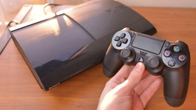 DualShock 4 Consola PS3 color negro
