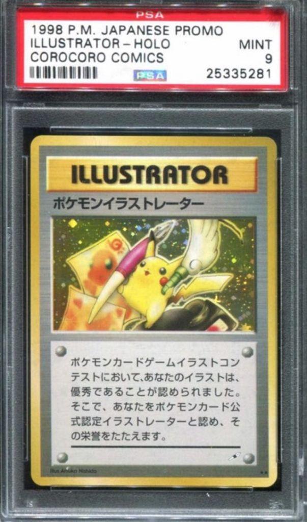 Subasta extraña carta coleccionable pokémon