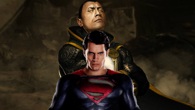 black-adam- Superman
