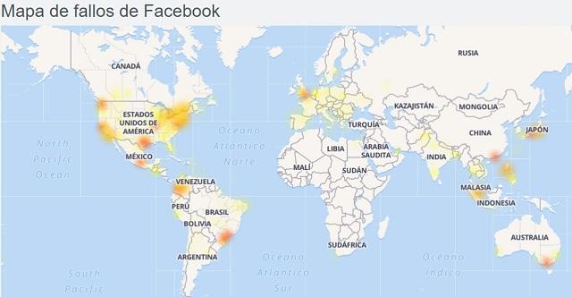Facebook e Instagram se cayeron