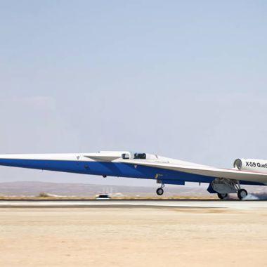 Jet X-59 Supersónico