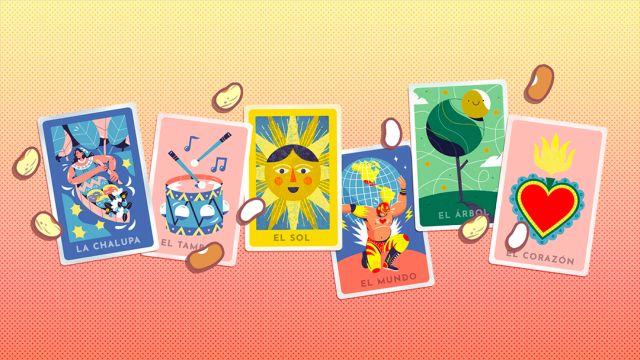 Loteria Doodle Google