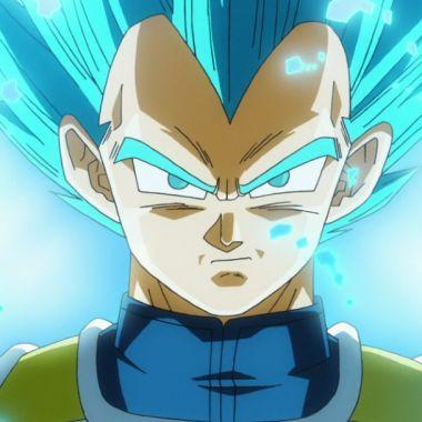 Funko Pop Vegeta Pelo Azul Brilla Oscuridad